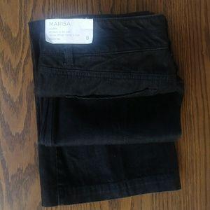 """Ann Taylor LOFT """"Marisa""""modern black jeans size 8"""